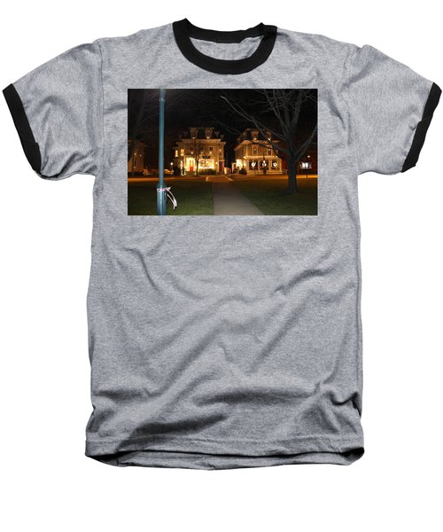 Christmas In Town Baseball T-Shirt