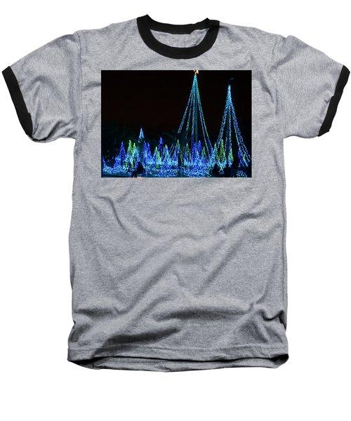 Christmas Lights 1 Baseball T-Shirt
