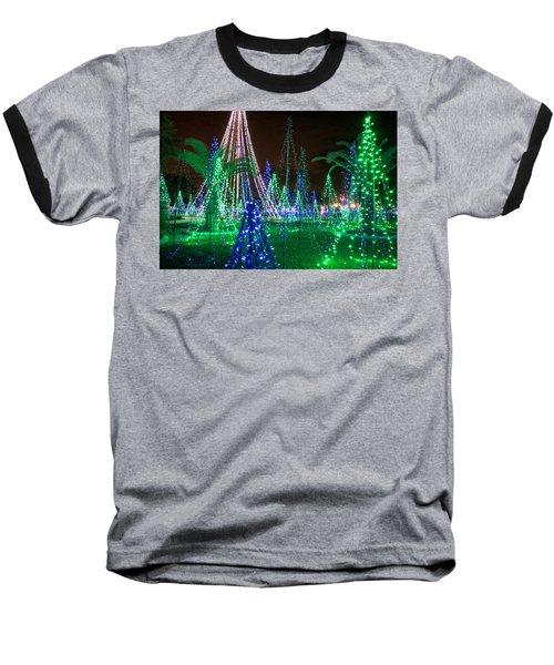 Christmas Lights 2 Baseball T-Shirt