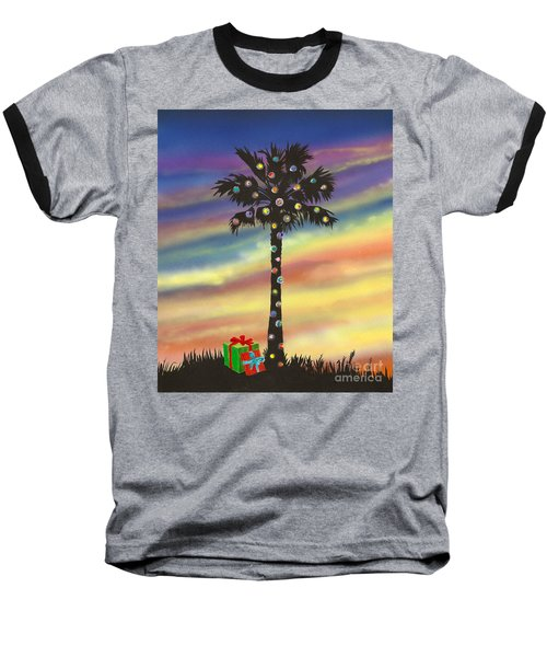 San Clemente Christmas Baseball T-Shirt