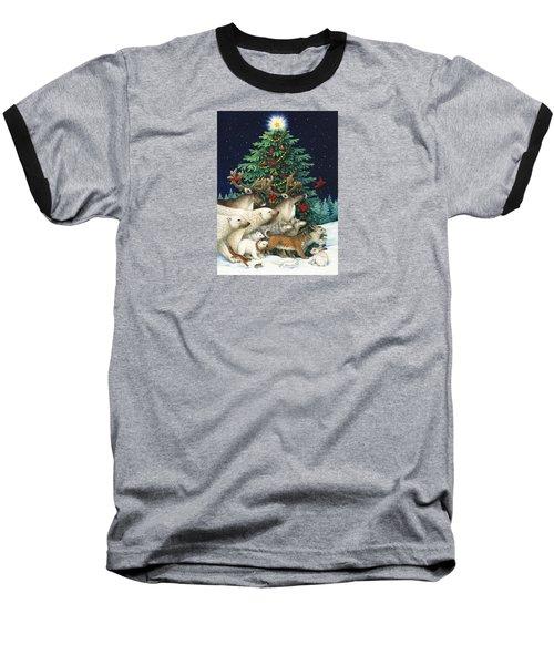 Christmas Parade Baseball T-Shirt