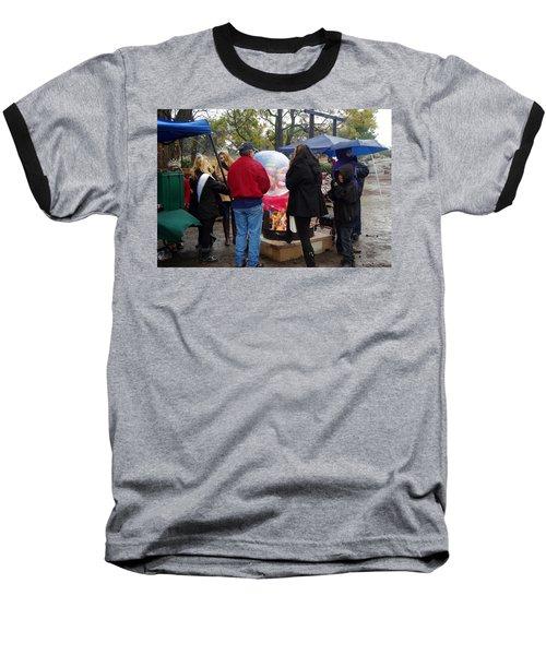 Christmas People Cold And Muddy Baseball T-Shirt