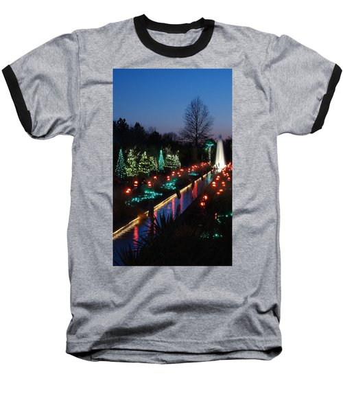 Christmas Reflections Baseball T-Shirt