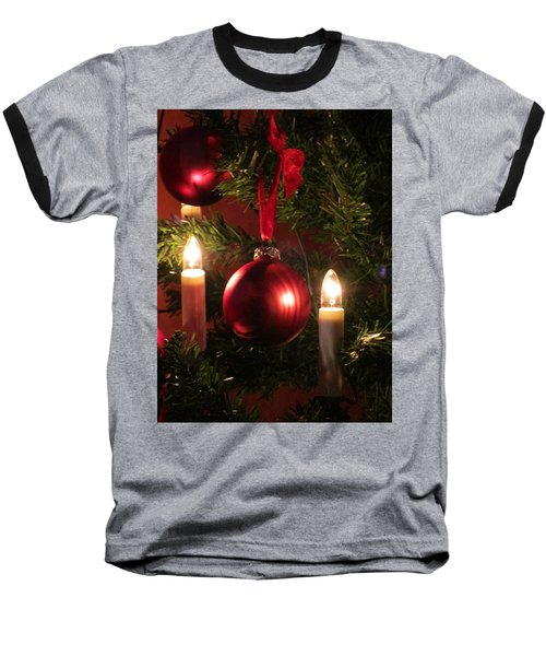 Christmas Spirit Baseball T-Shirt
