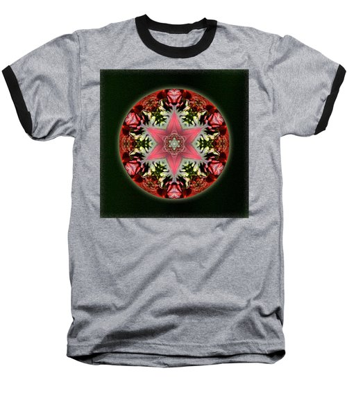 Christmas Star Baseball T-Shirt