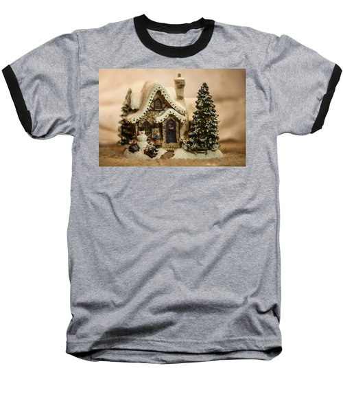 Baseball T-Shirt featuring the photograph Christmas Toy Village by Alex Grichenko