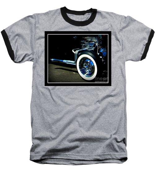 Baseball T-Shirt featuring the photograph Chrome  by Bobbee Rickard