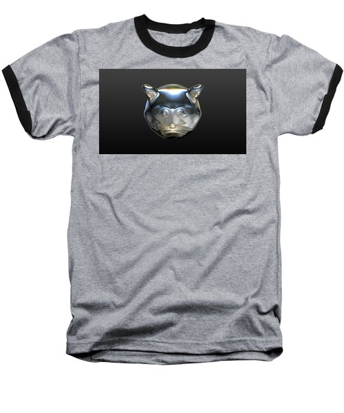 Chrome Cat Baseball T-Shirt