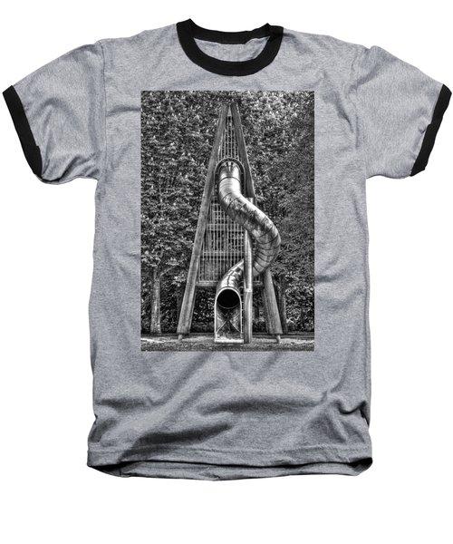 Chromium Slide Baseball T-Shirt by Semmick Photo