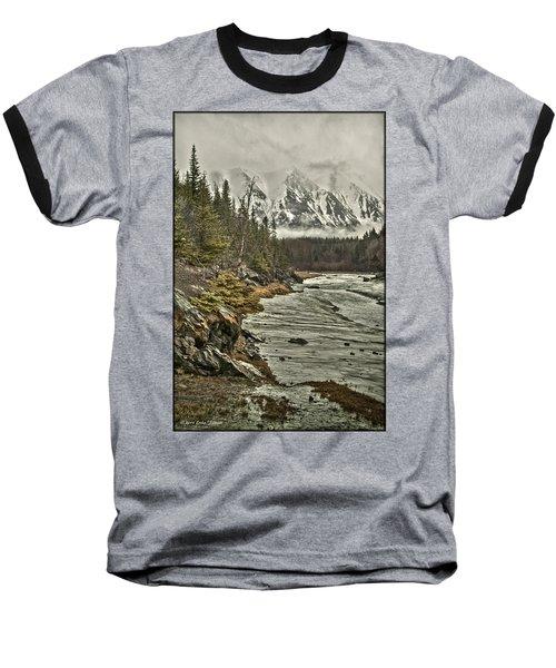 Chugach Range Baseball T-Shirt