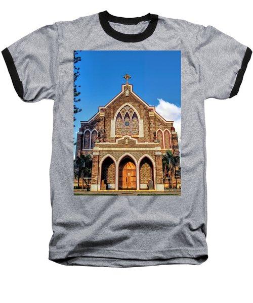 Baseball T-Shirt featuring the photograph Church 1 by Dawn Eshelman