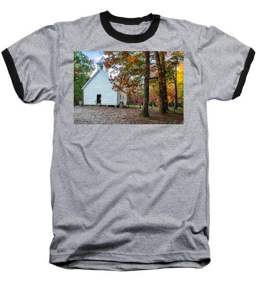 Church In Fall Baseball T-Shirt