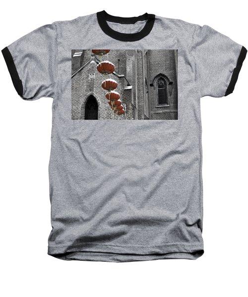 Church Lanterns Baseball T-Shirt