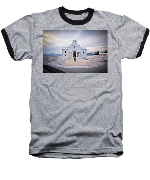 Church Of Croatian Martyrs In Udbina Baseball T-Shirt