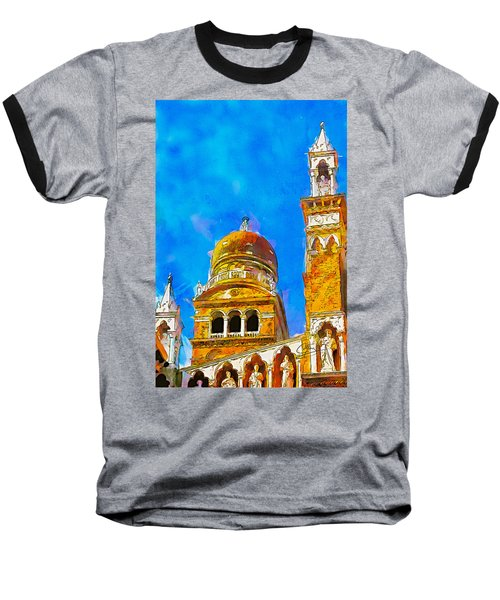 Church Of Madonna Dell'orto Baseball T-Shirt by Greg Collins