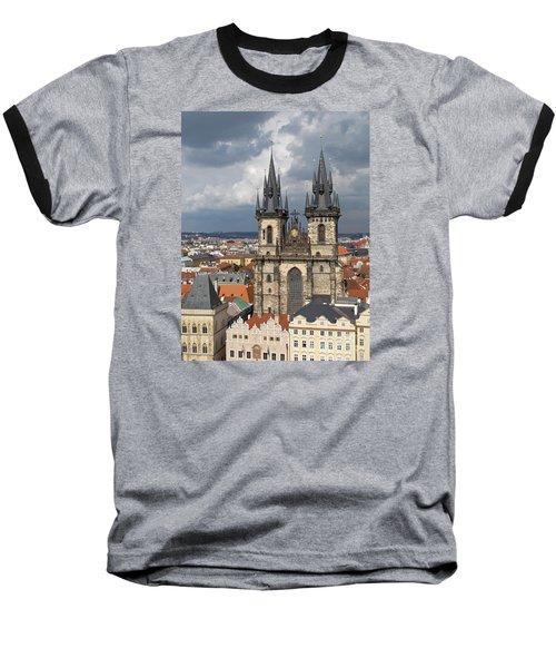 Church Of Our Lady Before Tyn - Prague Baseball T-Shirt