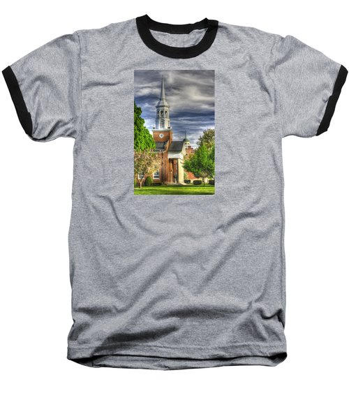 Church Of The Abiding Presence 1a - Lutheran Theological Seminary At Gettysburg Spring Baseball T-Shirt