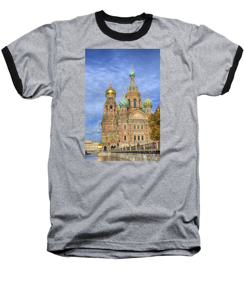 Church Of The Saviour On Spilled Blood. St. Petersburg. Russia Baseball T-Shirt by Juli Scalzi