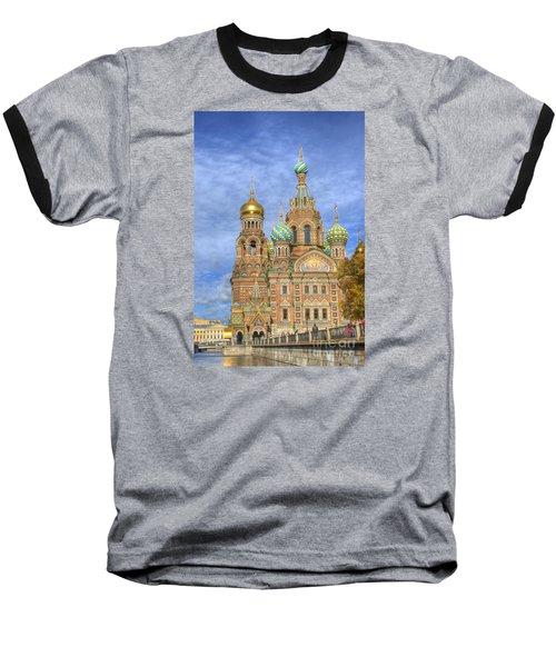 Church Of The Saviour On Spilled Blood. St. Petersburg. Russia Baseball T-Shirt