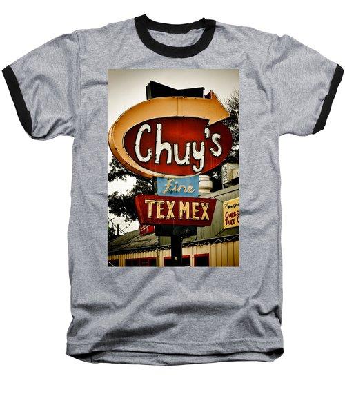 Chuy's Sign 2 Baseball T-Shirt
