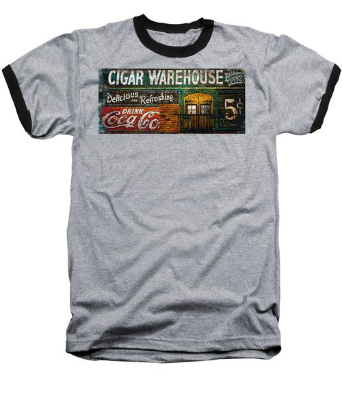 Cigar Warehouse Baseball T-Shirt
