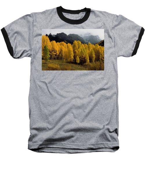 Cimarron Forks Baseball T-Shirt by Eric Glaser