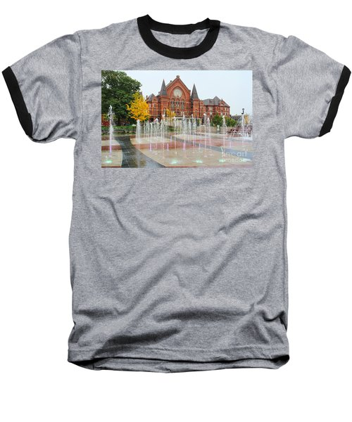 Cincinnati Music Hall 0001 Baseball T-Shirt