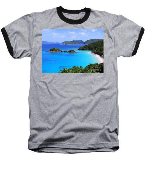 Cinnamon Bay St. John Virgin Islands Baseball T-Shirt