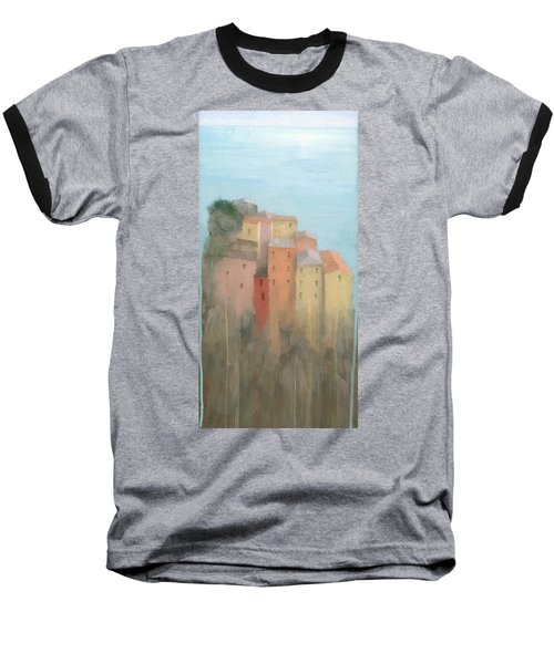 Cinque Terre Baseball T-Shirt by Steve Mitchell