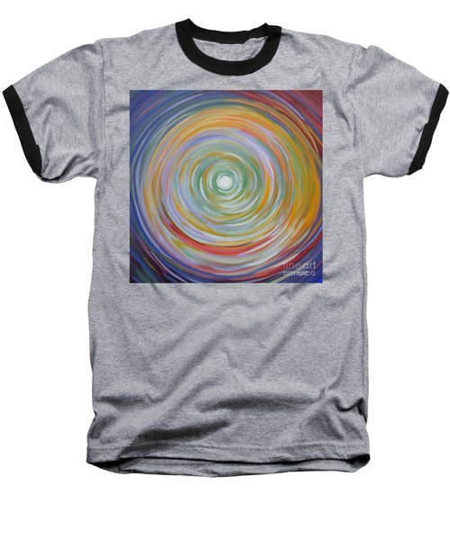 Circle In A Square Baseball T-Shirt