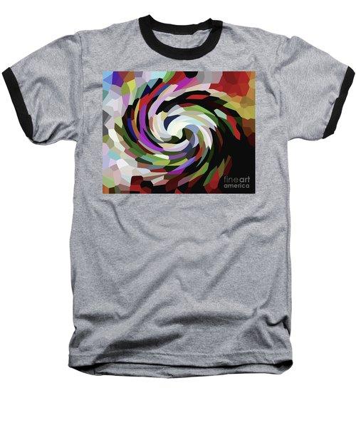 Circled Car Baseball T-Shirt