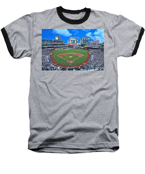 Citi Field Baseball T-Shirt by Allen Beatty