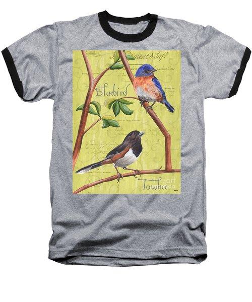 Citron Songbirds 1 Baseball T-Shirt