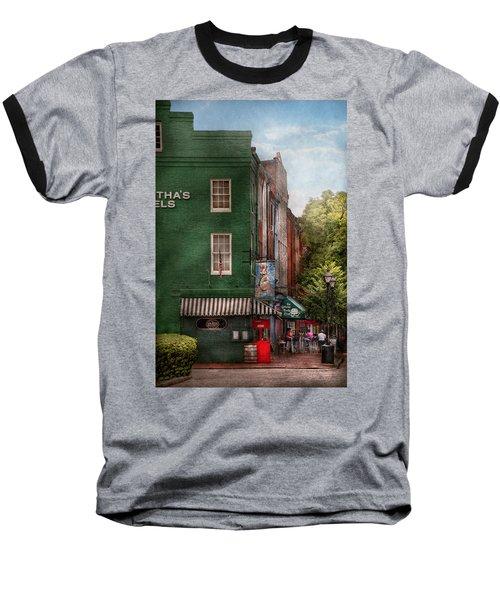 City - Baltimore - Fells Point Md - Bertha's And The Greene Turtle  Baseball T-Shirt