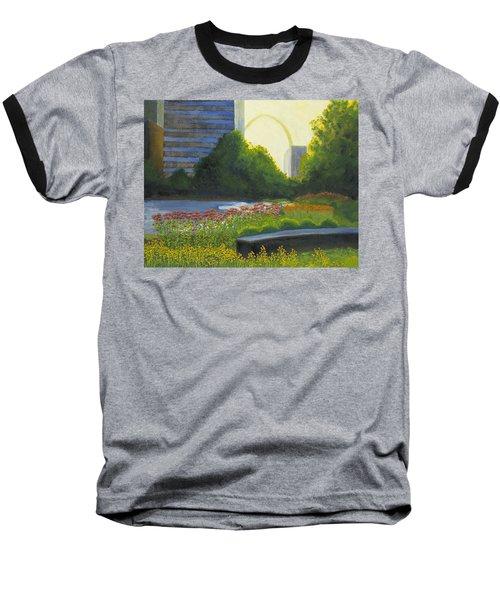 City Garden St. Louis Baseball T-Shirt by Garry McMichael