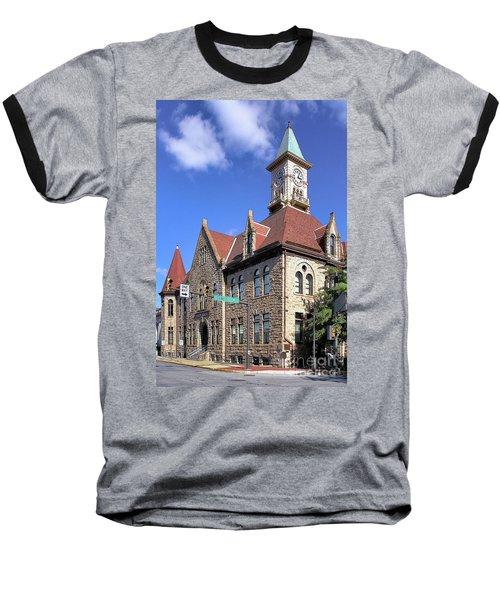 City Hall - Johnstown Pa Baseball T-Shirt
