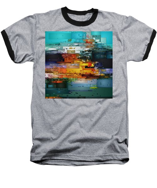 City Of Color 1 Baseball T-Shirt