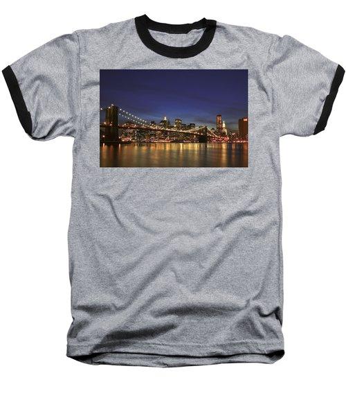 City Of Lights Baseball T-Shirt