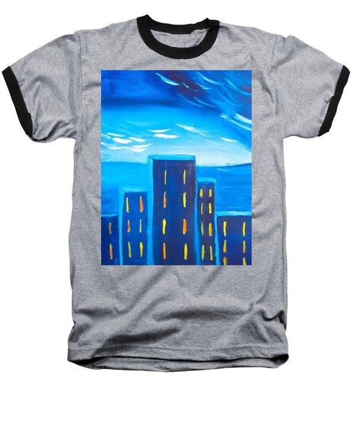 City Baseball T-Shirt by Joshua Maddison