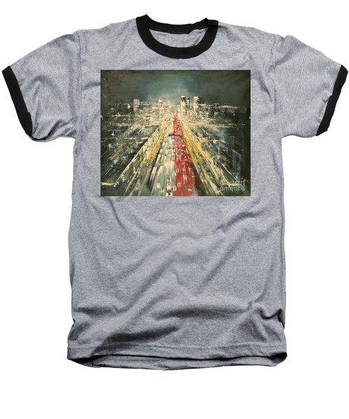 City Of Paris Baseball T-Shirt by Maja Sokolowska
