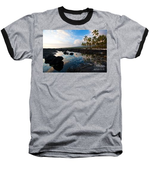 City Of Refuge Beach Baseball T-Shirt by Mike Reid