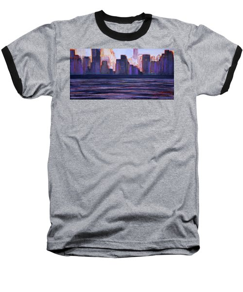 City Sunset Baseball T-Shirt