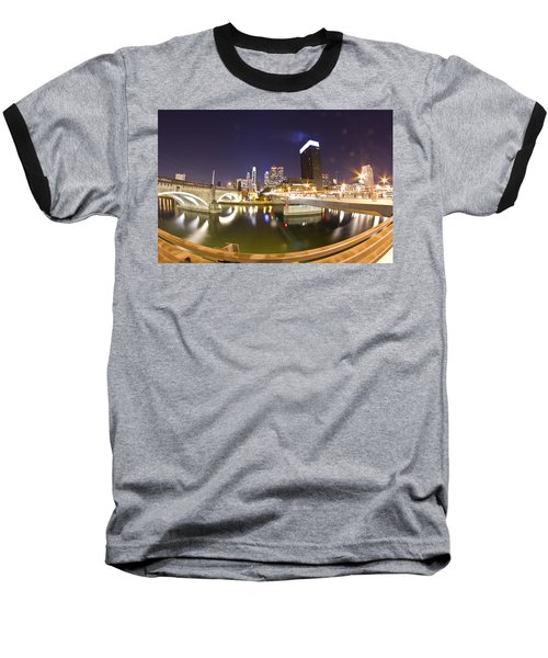 City's Reflection Baseball T-Shirt
