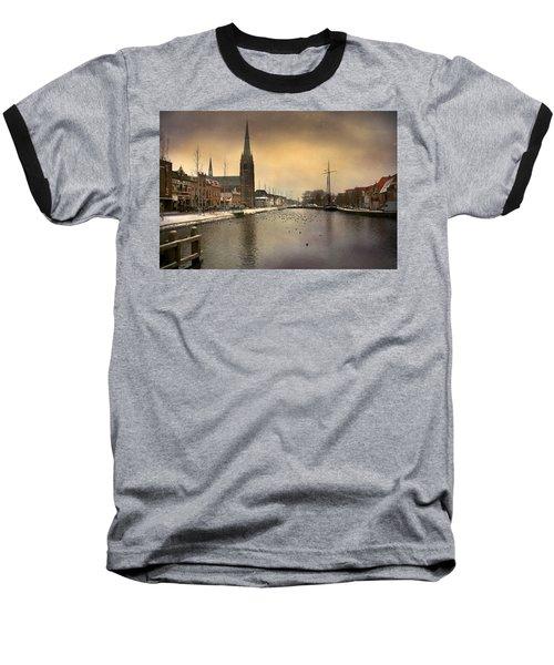 Cityscape Baseball T-Shirt