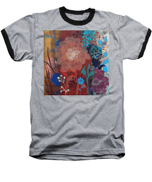 Baseball T-Shirt featuring the painting Clarity by Robin Maria Pedrero