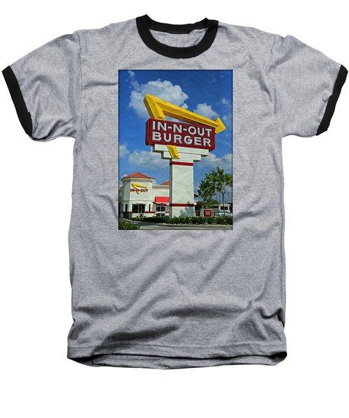 Classic Cali Burger 1.1 Baseball T-Shirt