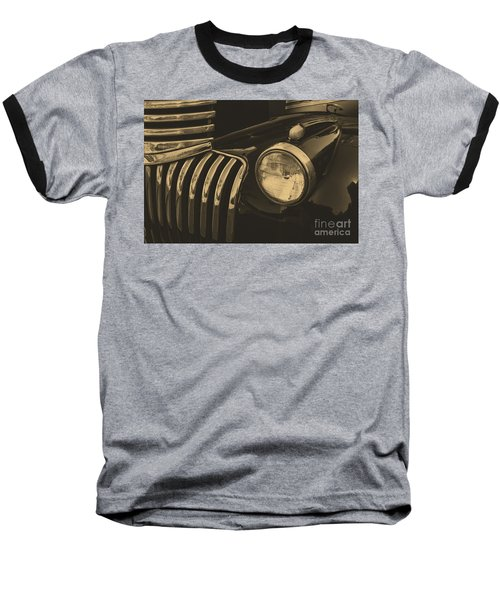 Baseball T-Shirt featuring the photograph Classic Chevy One by John S
