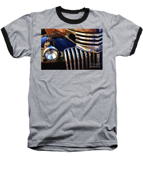 Baseball T-Shirt featuring the photograph Classic Chevy Two by John S