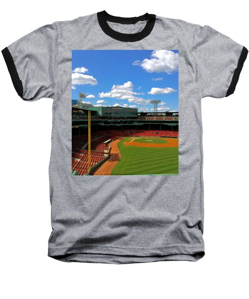 Baseball T-Shirt featuring the photograph Classic Fenway I  Fenway Park by Iconic Images Art Gallery David Pucciarelli