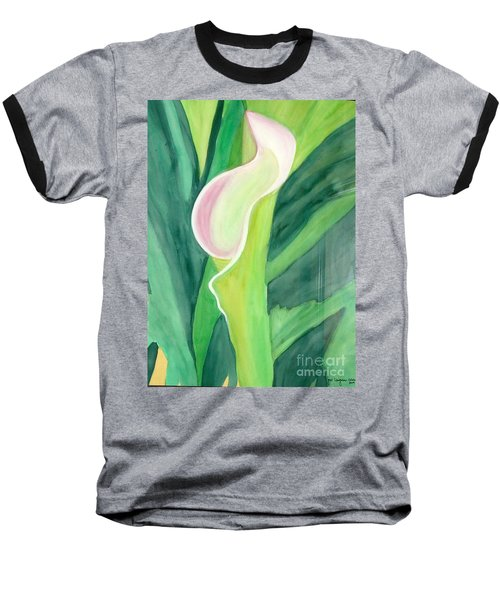 Classic Flower Baseball T-Shirt